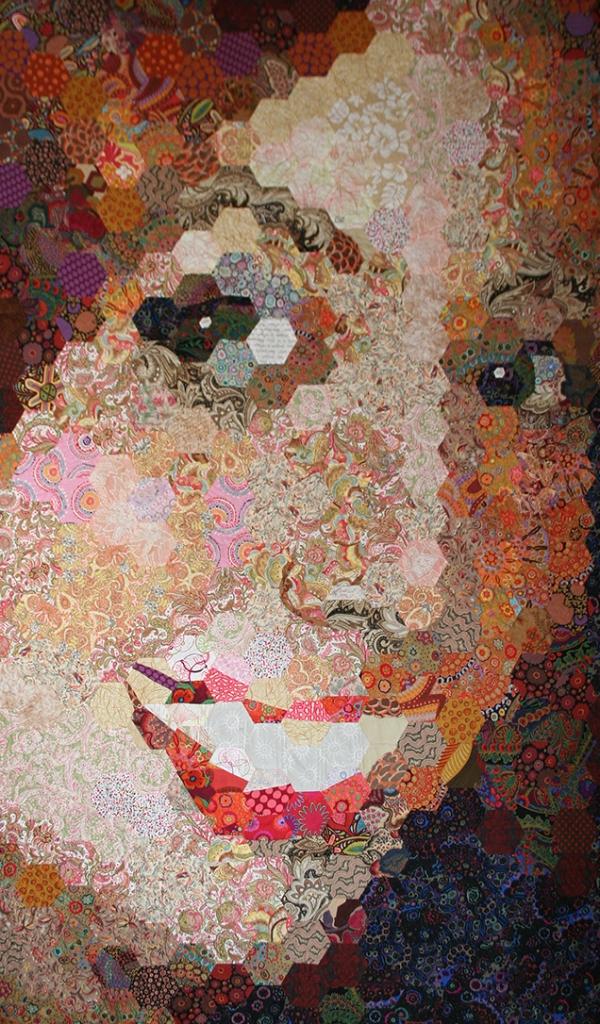 Kirsten Art Quilt by Carolyn Zinn